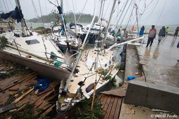 Image d'illustration pour Cyclone Pam : Vanuatu touché de plein fouet - Nouvelle Calédonie épargnée