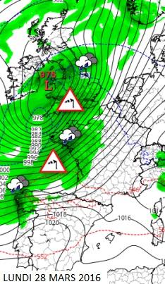 Image d'illustration pour Douceur, orage, neige, vent : un cocktail météo riche et varié pour Pâques