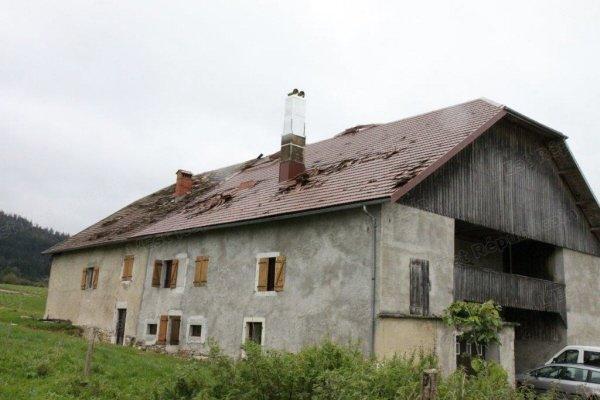 Image d'illustration pour Orage : vents violents sur le Haut Doubs et forte grêle en Suisse