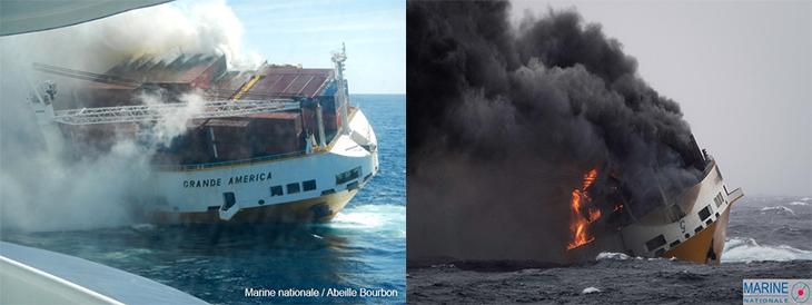 Image d'illustration pour Naufrage du Grande America : menace de pollution sur les côtes