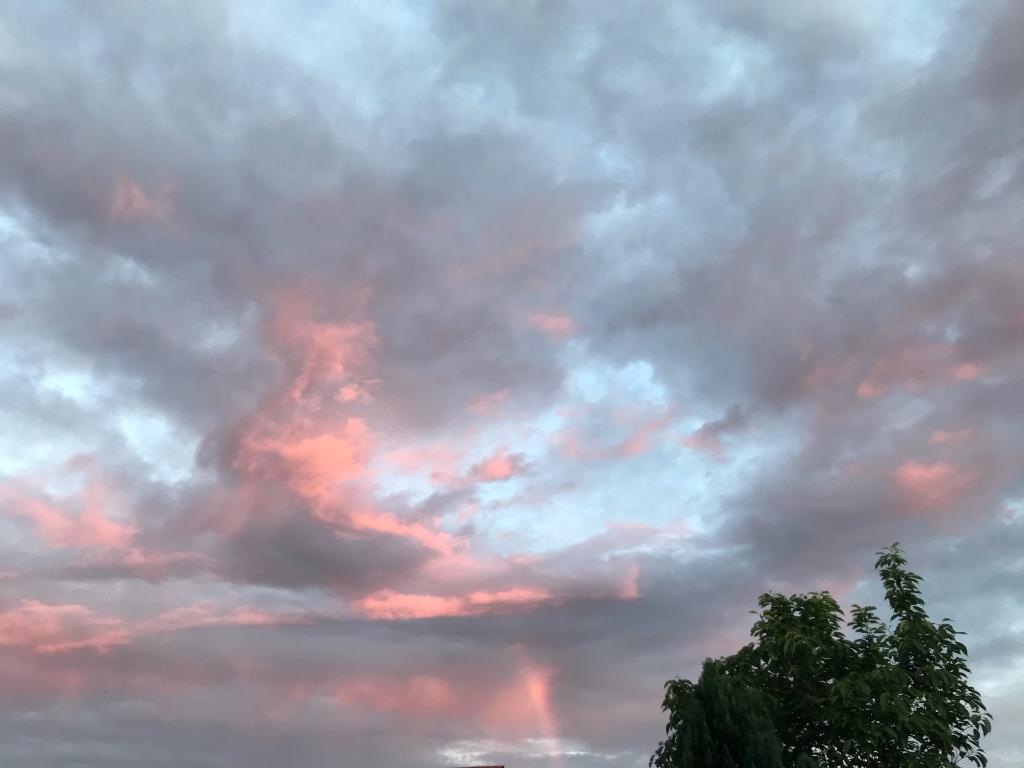 magnifique ciel ce soir