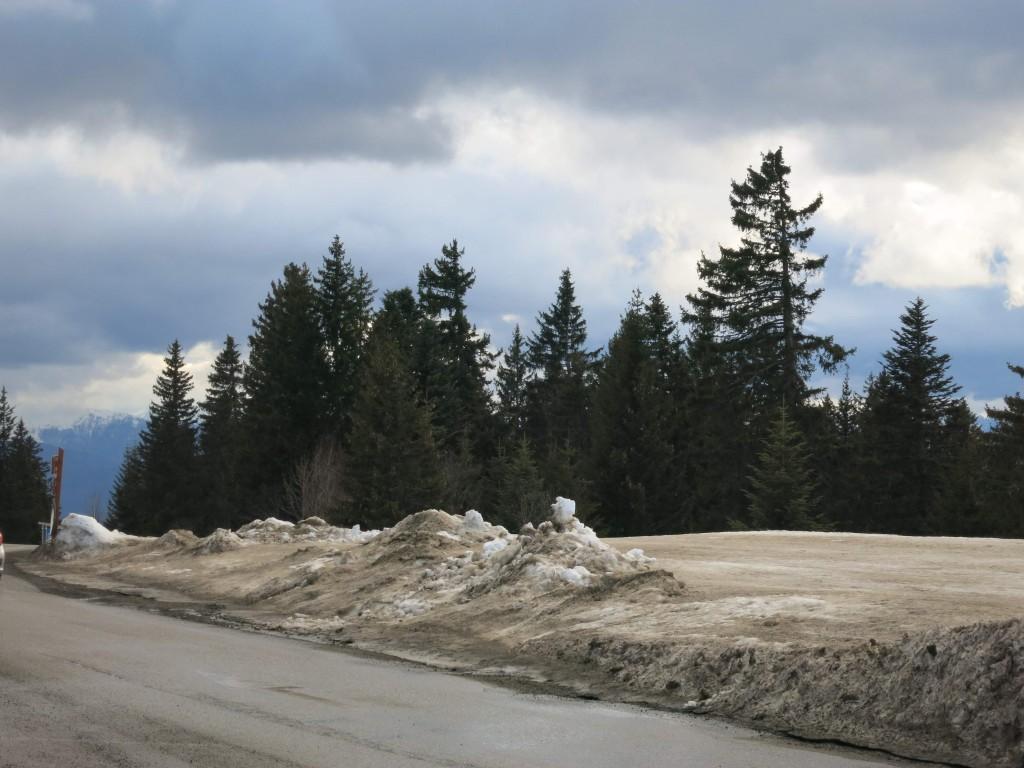 Beaucoup de sel sur les routes cette année A.P.
