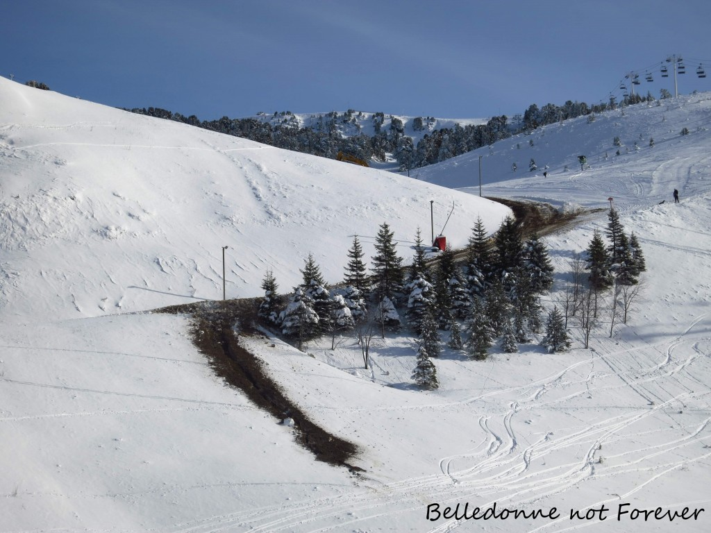 Coulée de boue à Recoin – Quand les canons à neige font fondre la neige A.P.