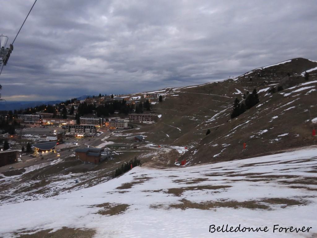 Peu de neige à Recoin En attendant la neige   A.P.