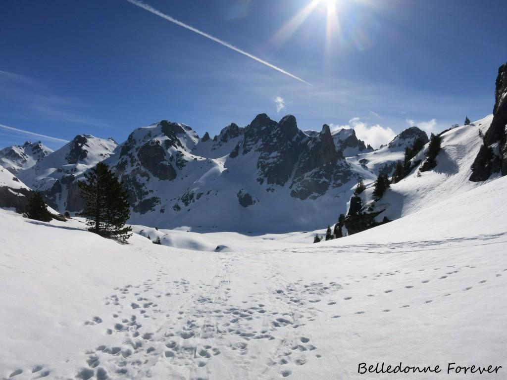 Toujours beaucoup de neige  A.P.