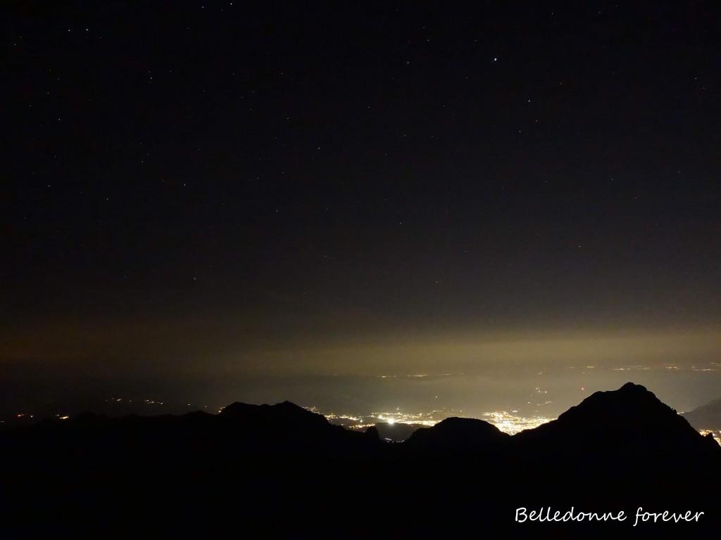 Belledonne by night et si on diminuait les lumières A.P.