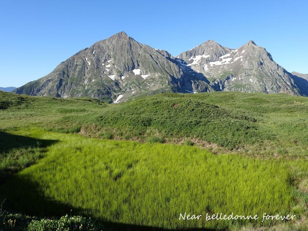 Le plateau du Taillefer et le lac Fourchu  A.P