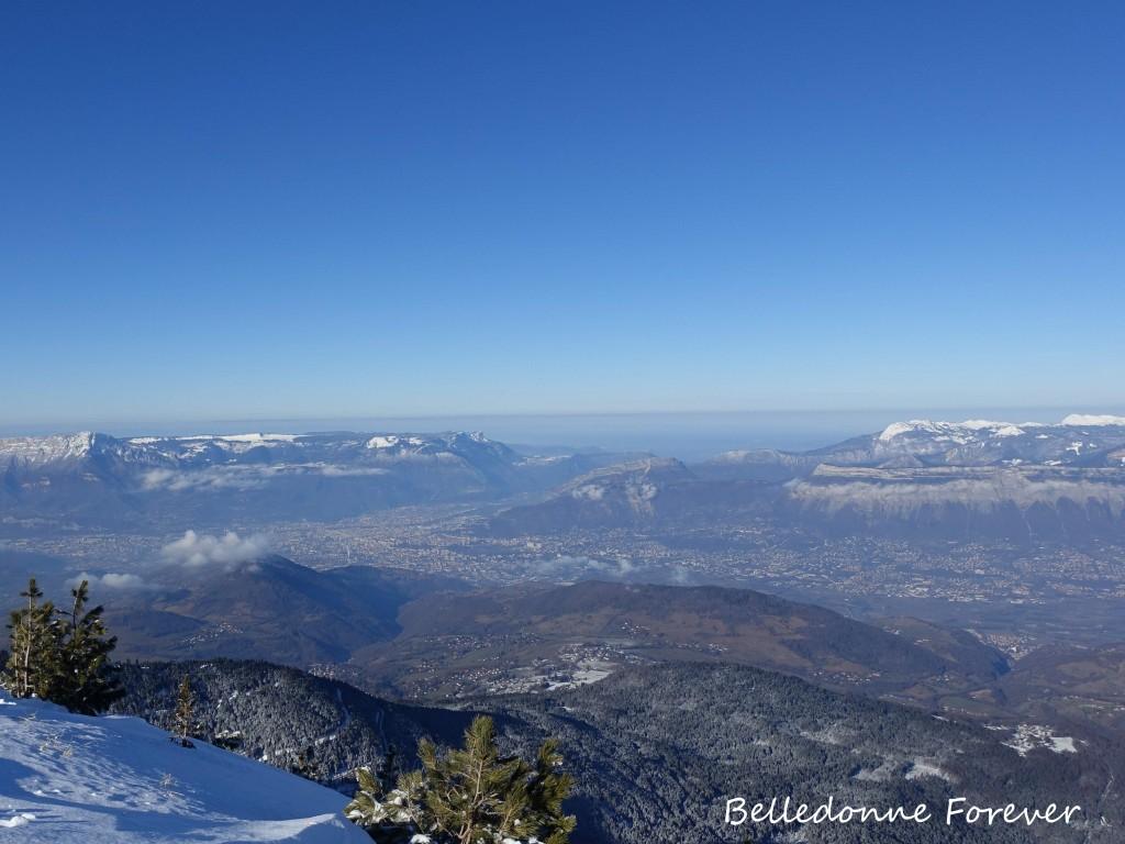 Vue sur Grenoble A.P.
