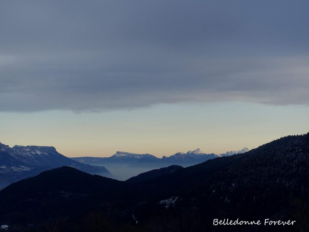 Ciel dégagé sur les Savoie A.P.