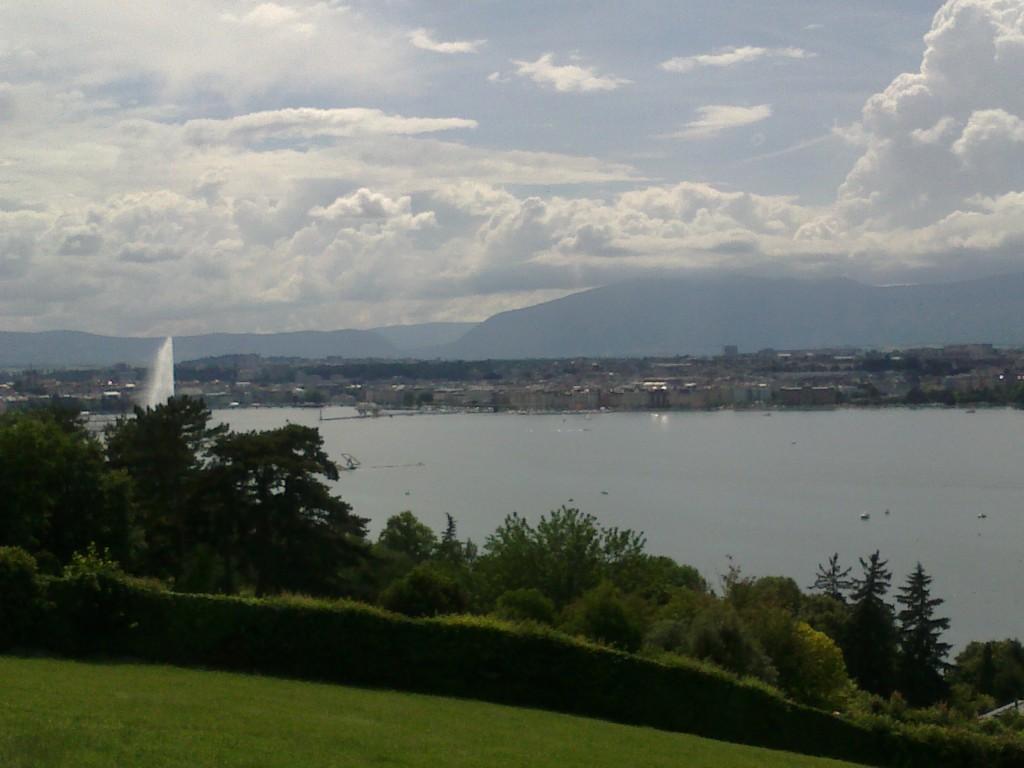 Genève vue depuis Cologny