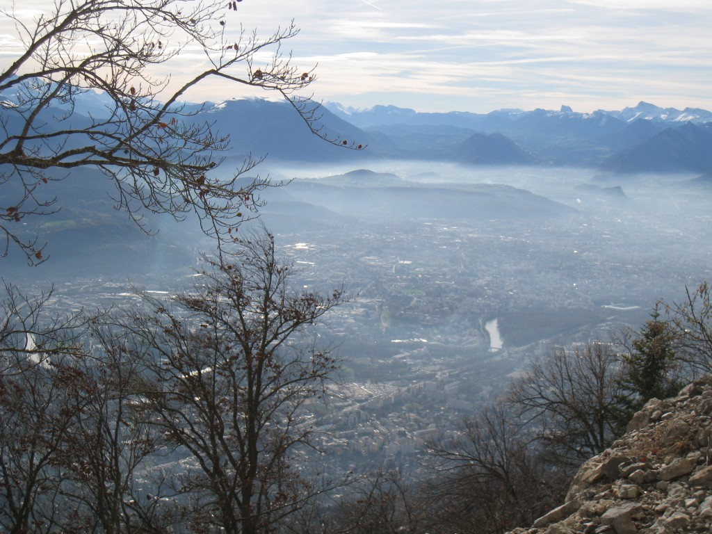 Brume sur Grenoble