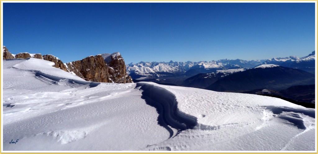 grand beau temps sur les Alpes