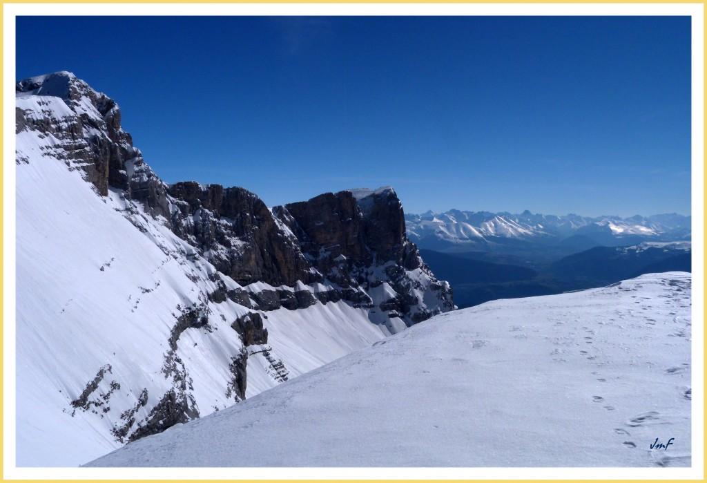 Grand Bleu sur les Alpes