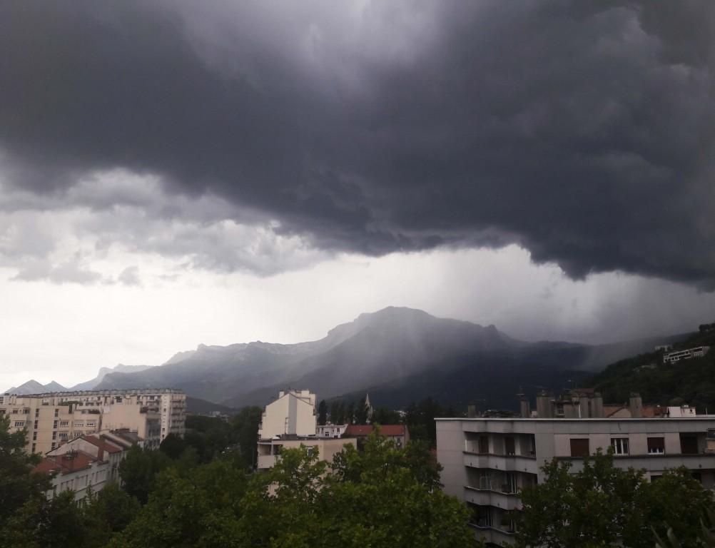 Le Vercors avant l'orage