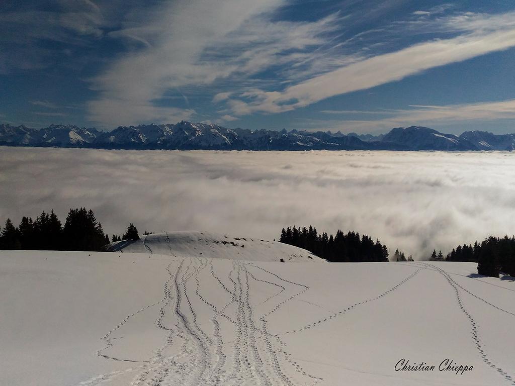 Mer de nuage sur Grenoble