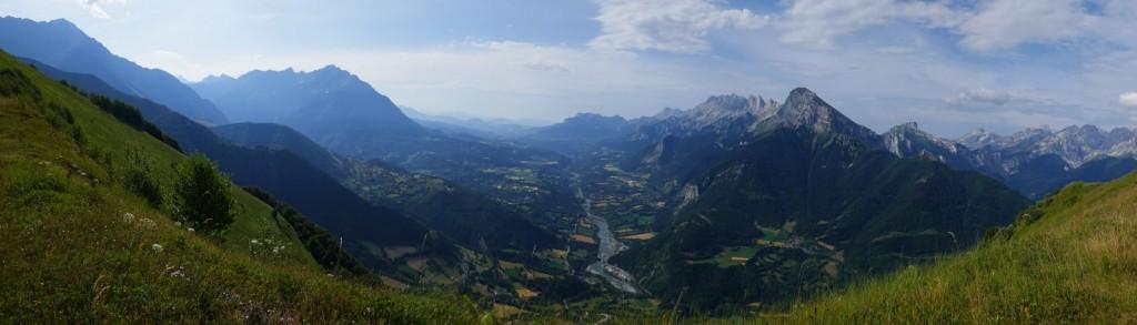 "panoramique vu du ""Grand Journal"" vers sud Ouest"