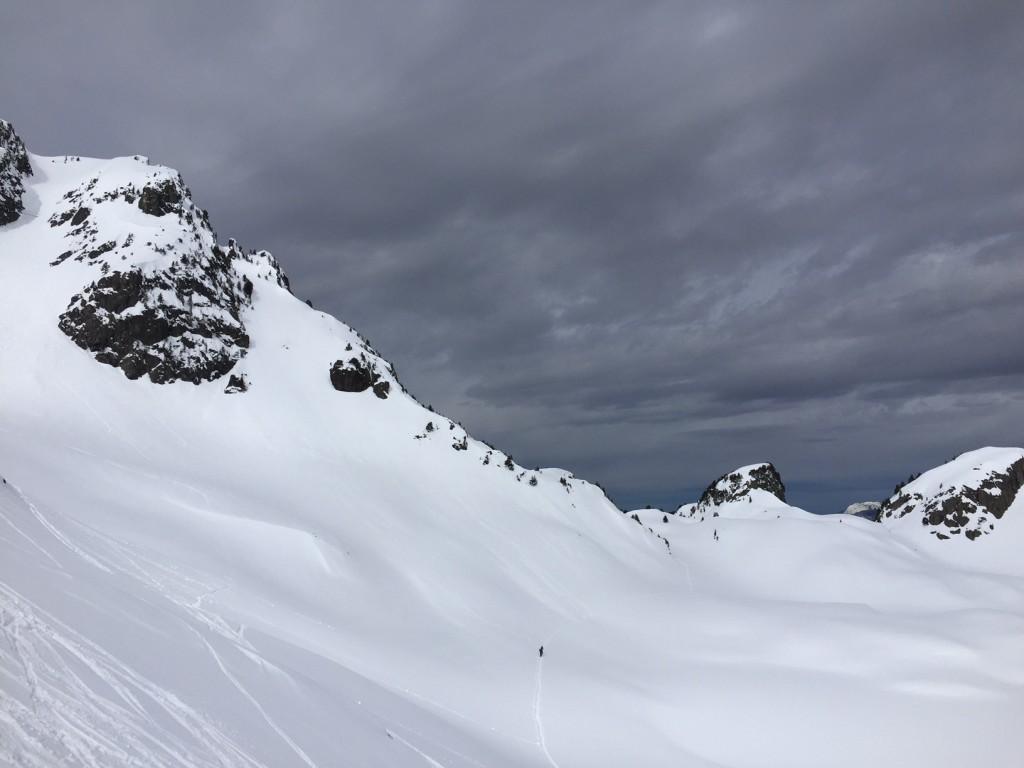 Ski de rando solo - Lac Robert, lundi de Pâques