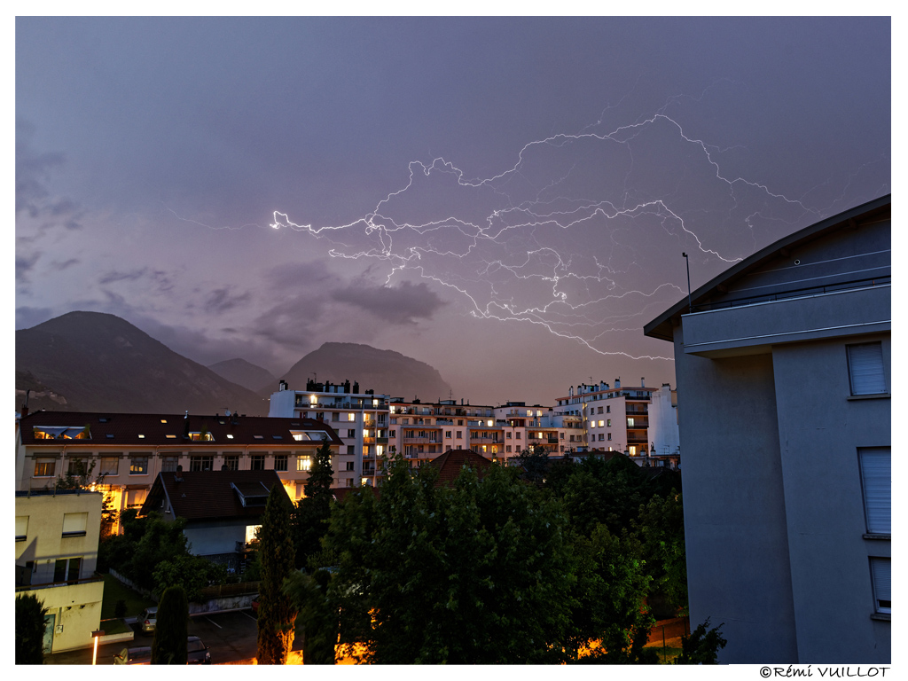 très électrique sur Grenoble