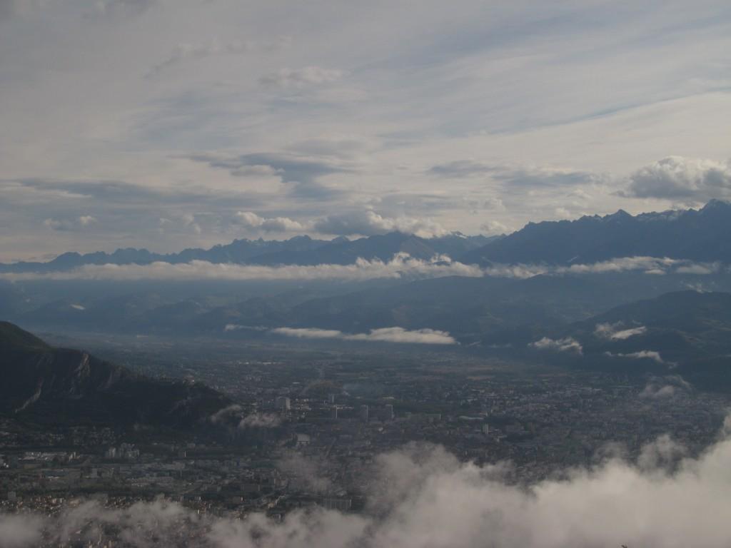 750 m au dessus de Grenoble