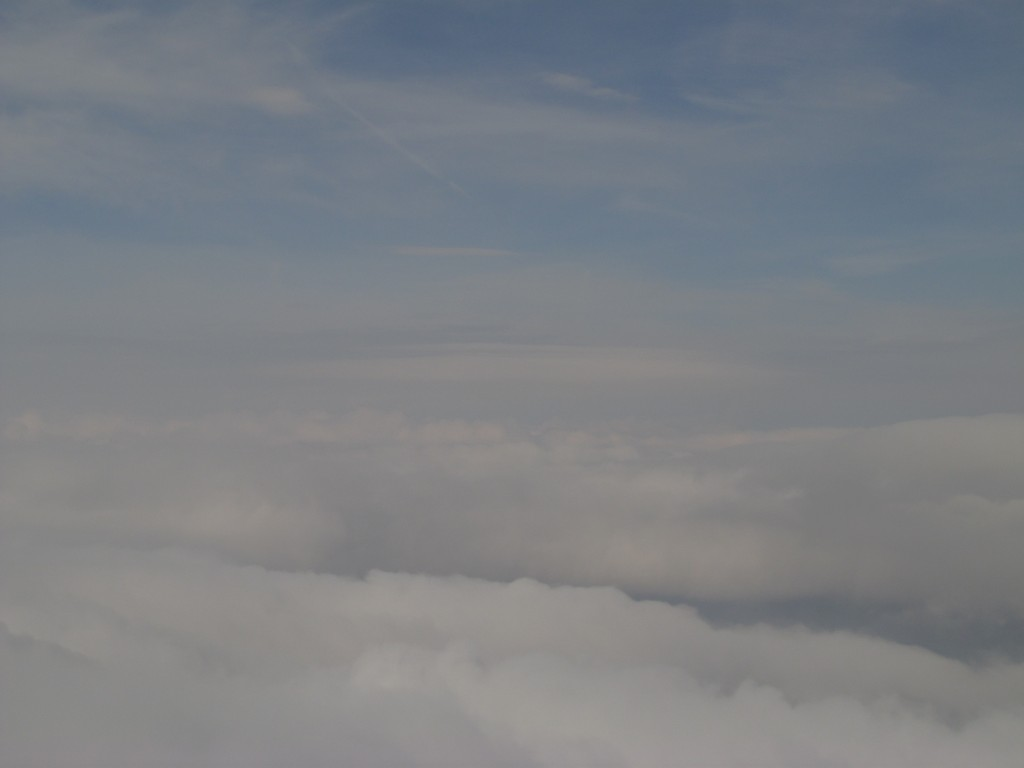 Au dessus de Grenoble
