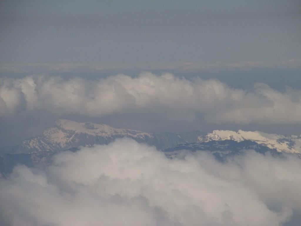 Chartreuse sous les cumulus