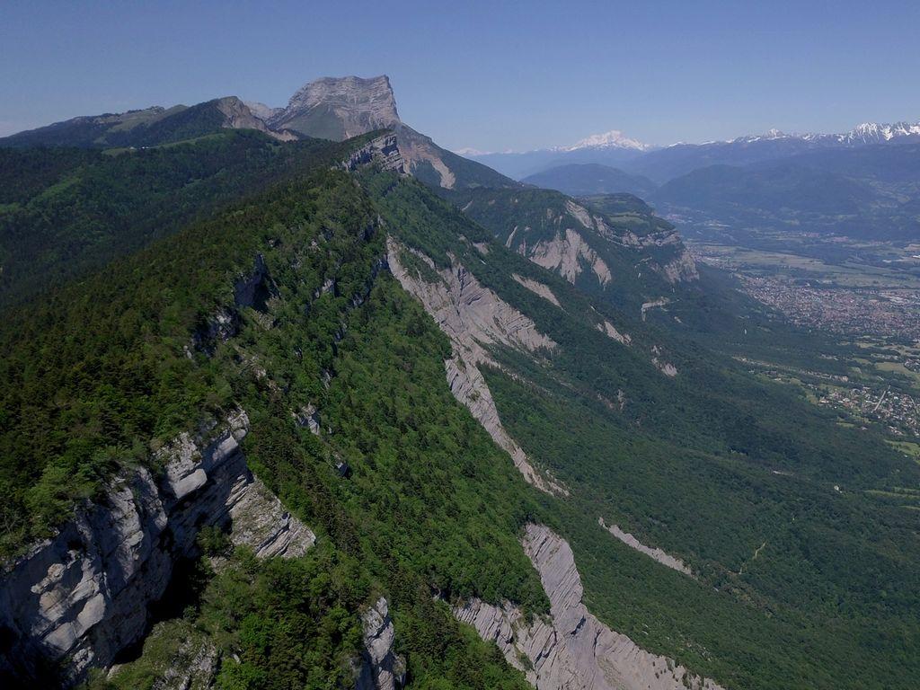 Dent de Crolles depuis le Saint-Eynard