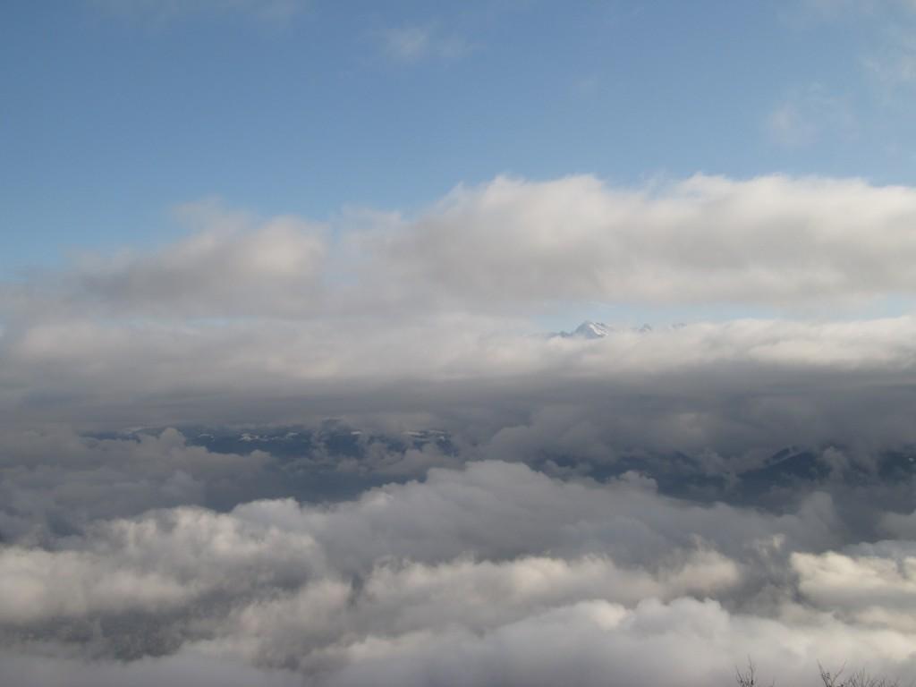 Eclaircie en altitude