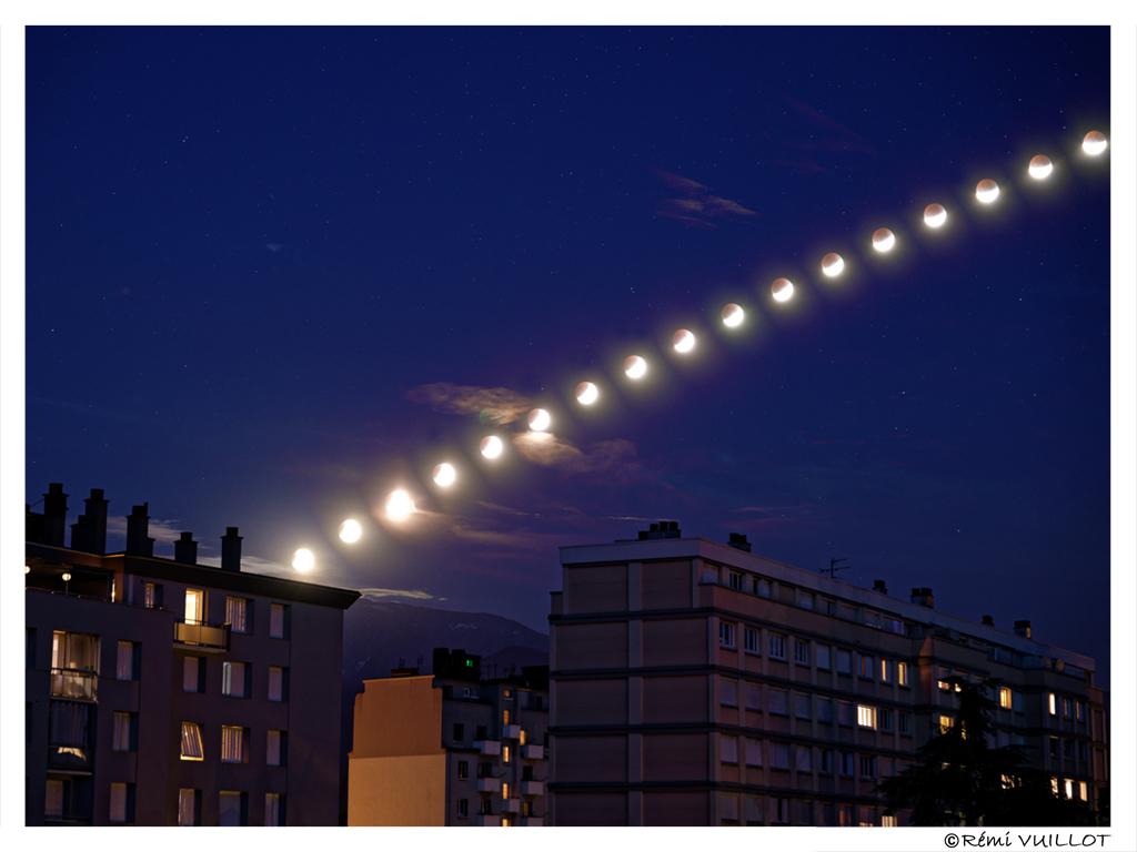 Eclipse partielle de lune du 16 juillet