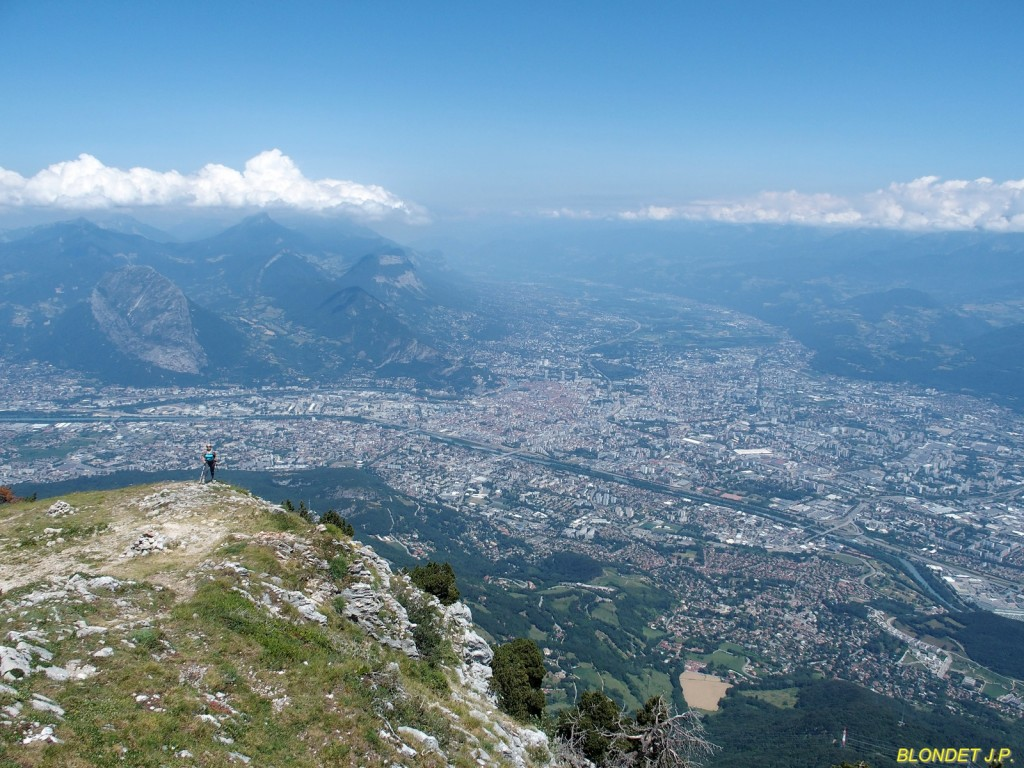 Grenoble vu du Moucherotte