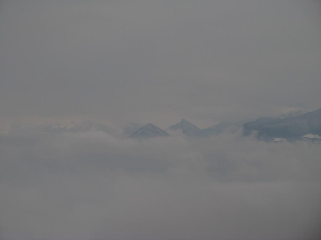 Grisaille sur Grenoble
