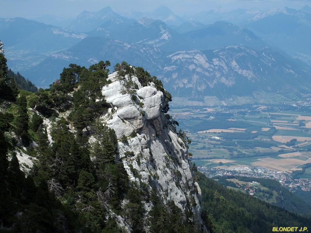 Les Bauges vues du Col de l'Alpe