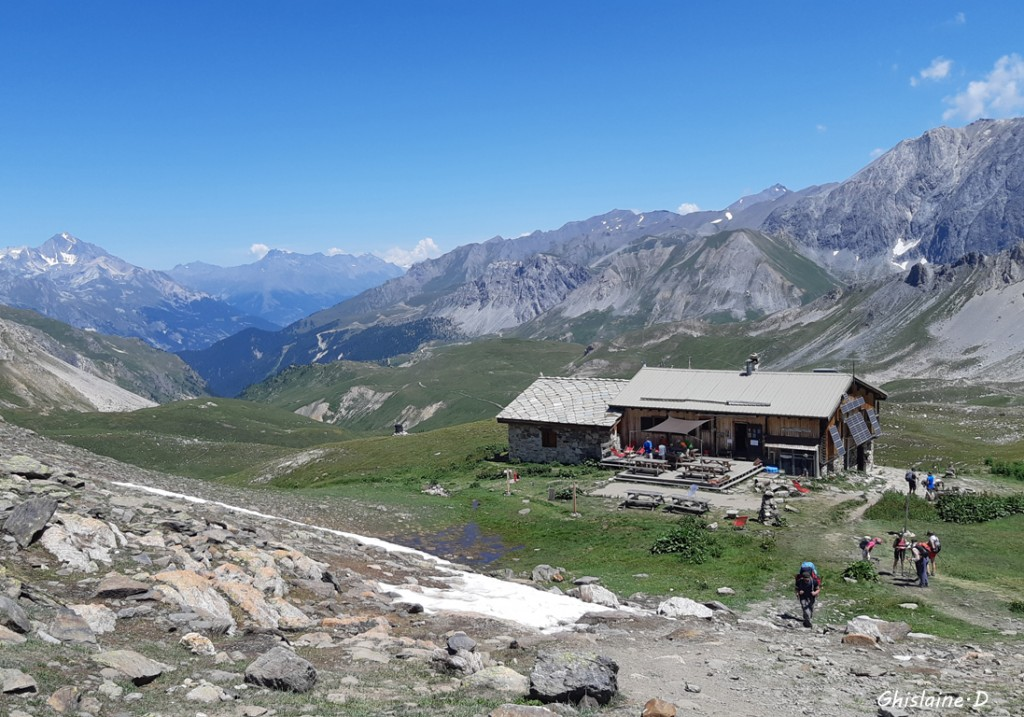 Maurienne. Refuge Mt Thabor 2508m