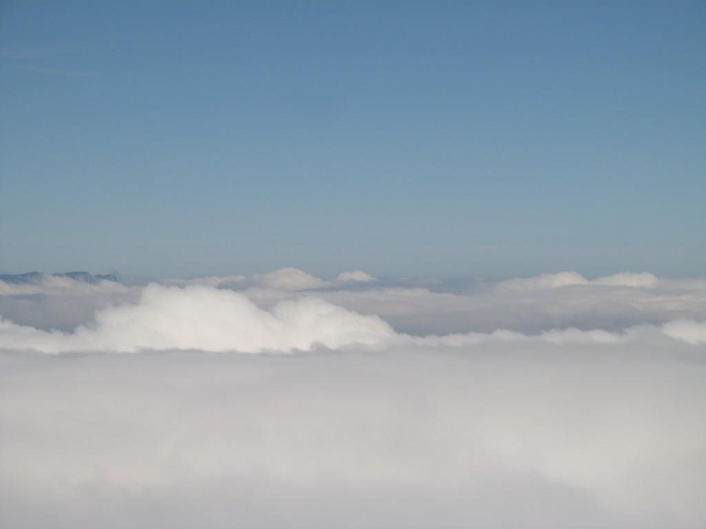nuages au dessus de Grenoble