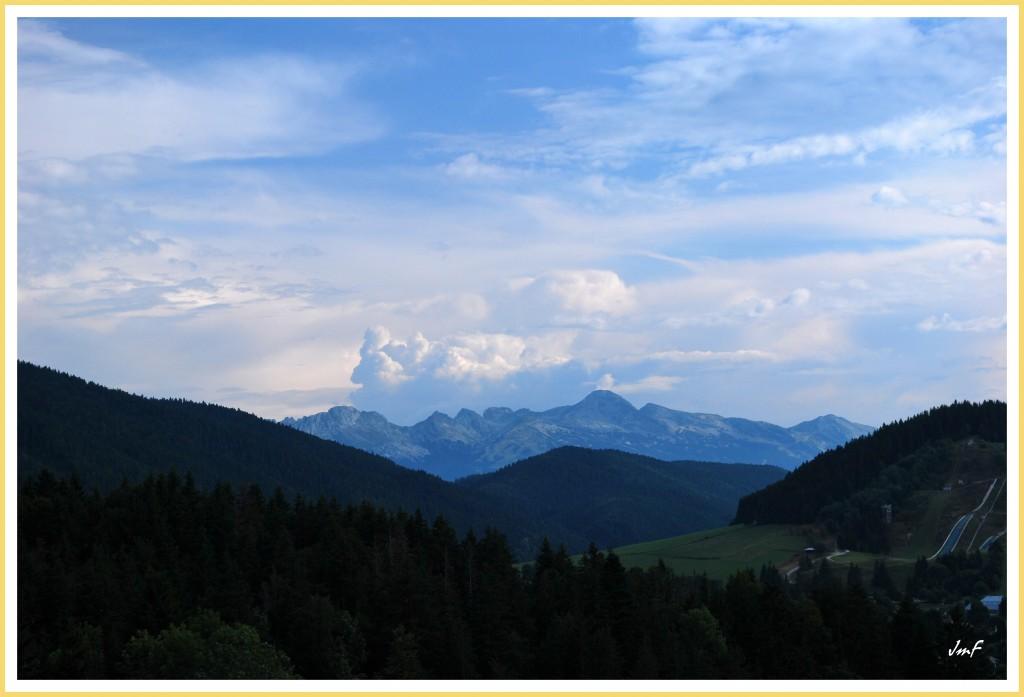 orageux au Sud vers les hautes Alpes