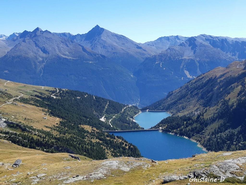 Plan d'Amont et d'Aval Lacs Aussois (Savoie)