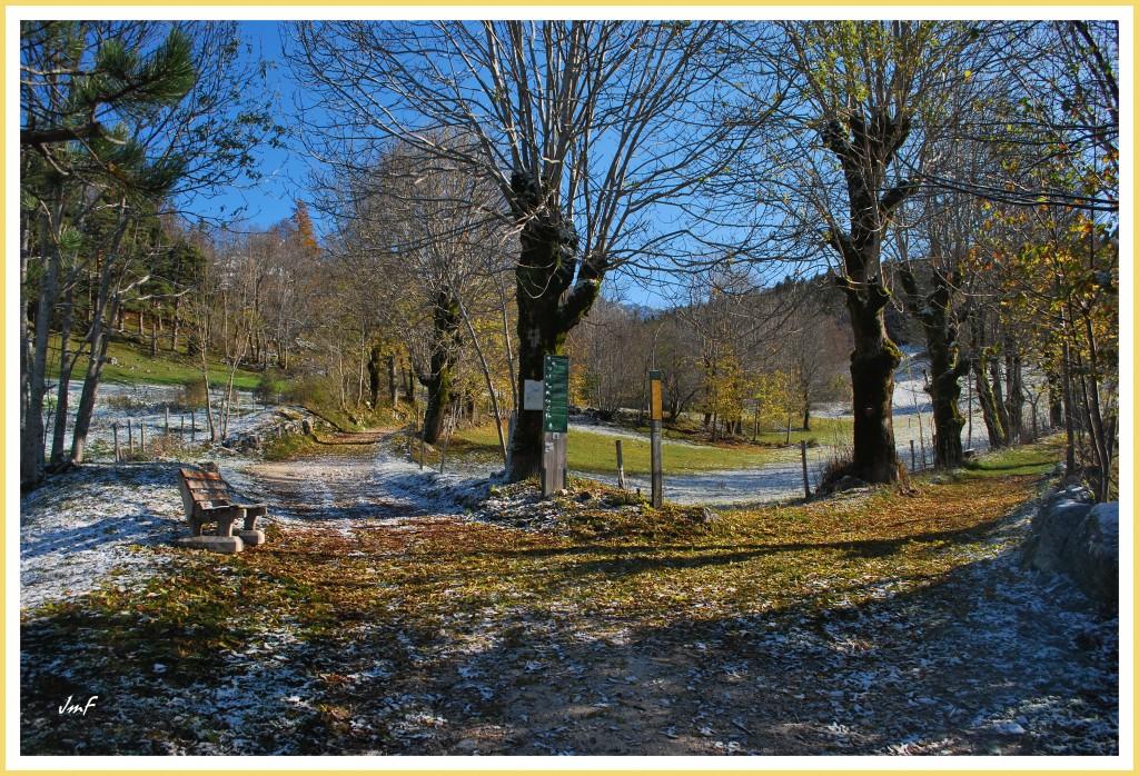 promenade depuis le hameau des Clots