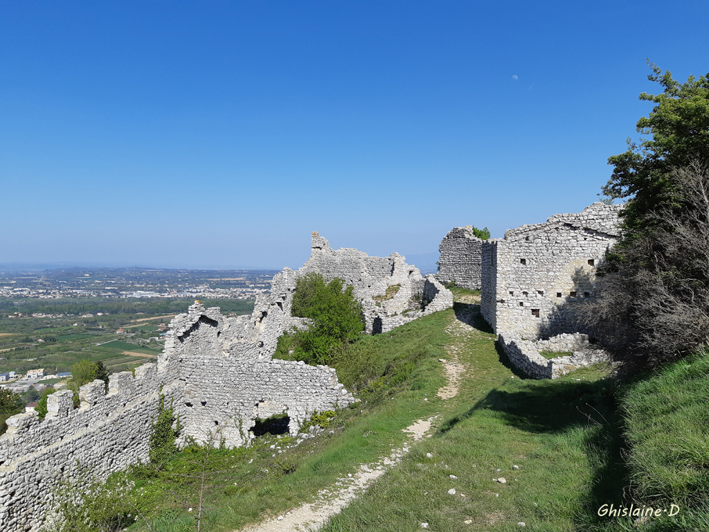 Ruines du Château de Crussol (Ardèche)