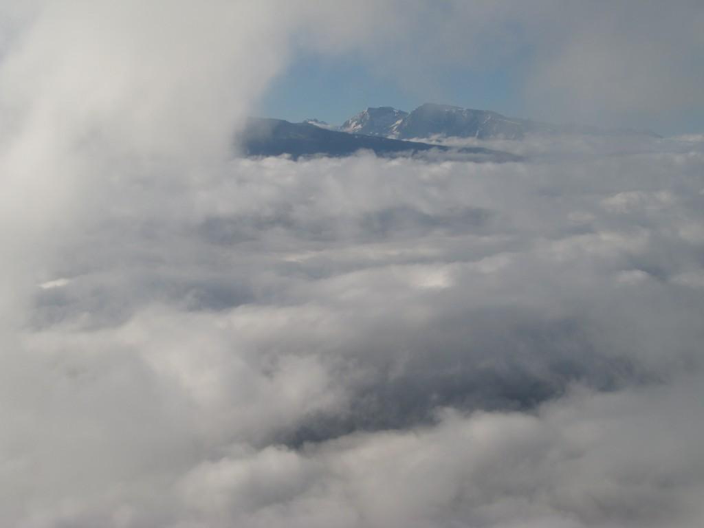 Taillefer à travers les nuages