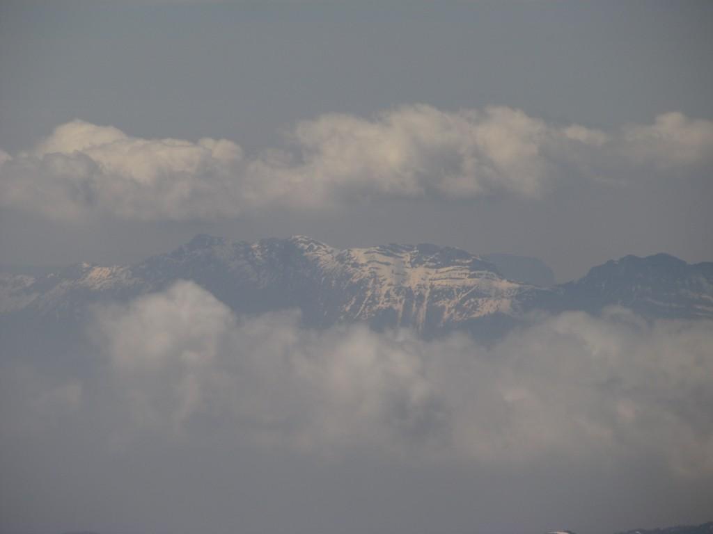 Vercors sous les cumulus