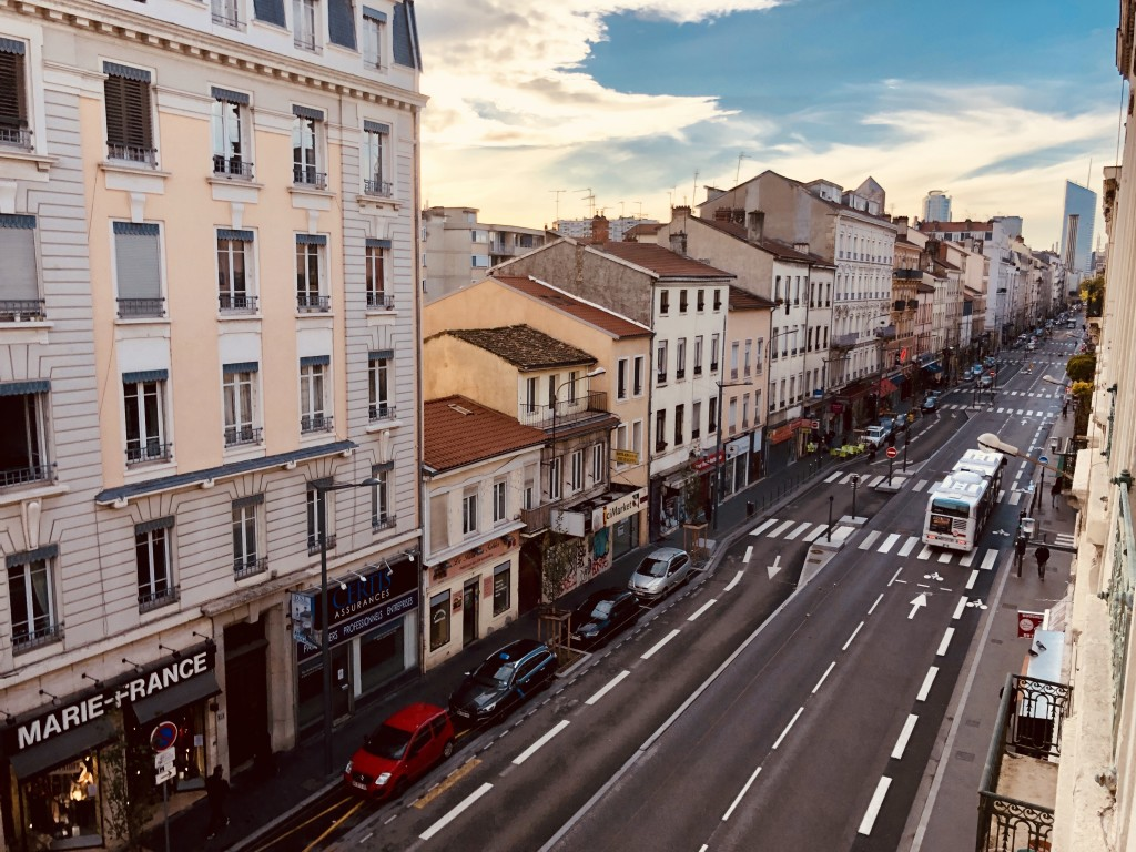 Cours Lafayette by the Sunset