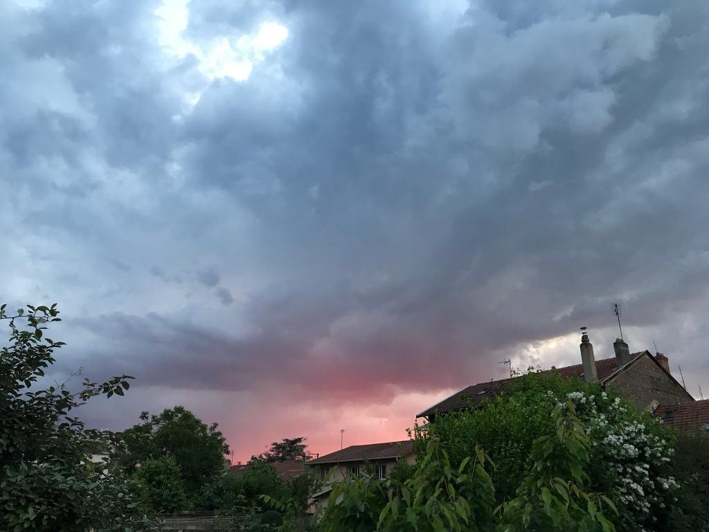 orage à venir