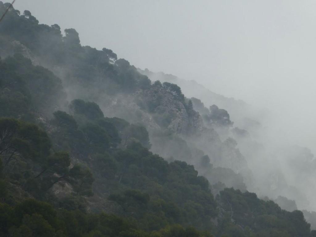 brouillard sur le Luberon