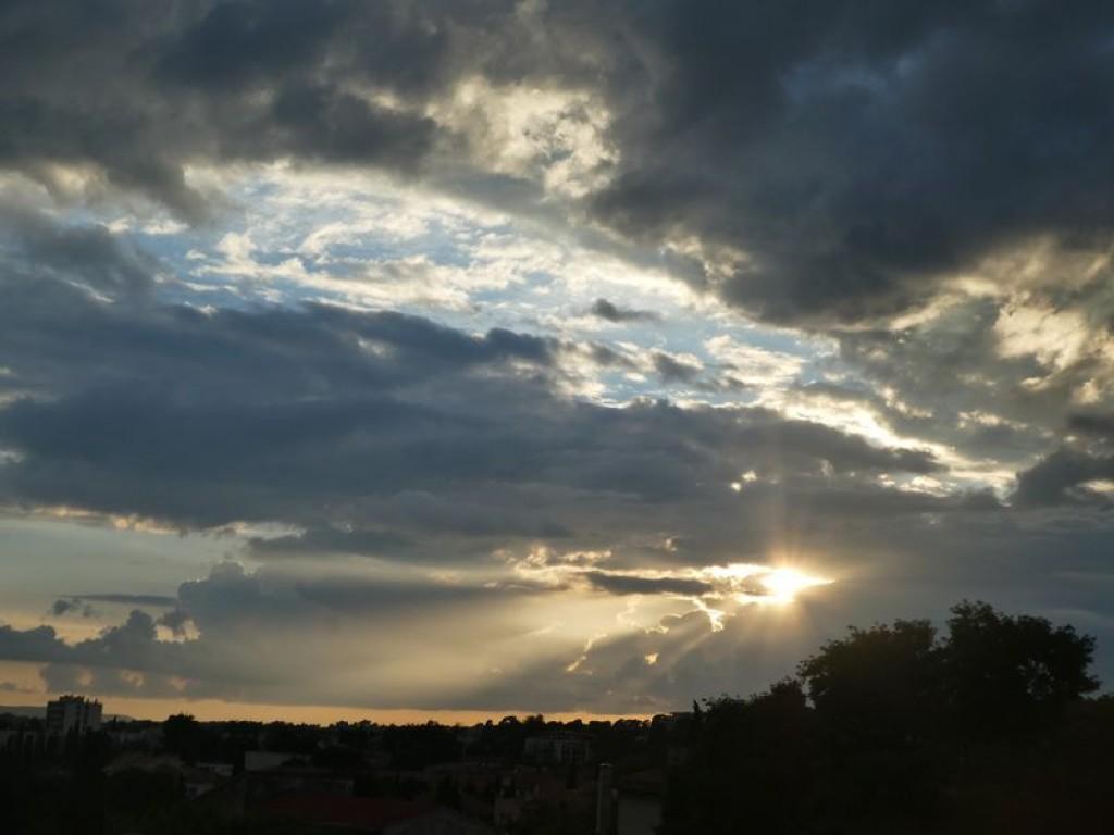 Ciel d'après orage