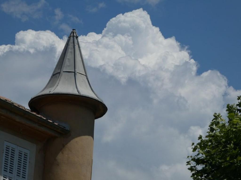tourelle et cumulus