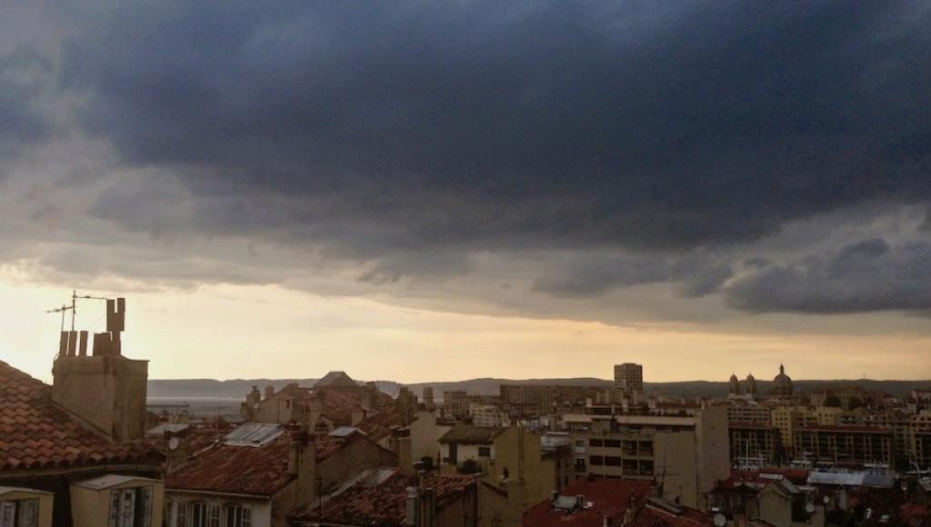 Le ciel à 18:28 (G@tto)