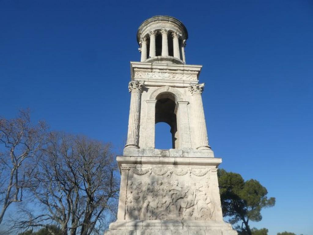 Art et Azur aux Antiques St Rémy de Provence