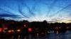 paris - couché du soleil sur le pont des tournelles .