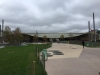 jardin des Halles Paris - encore une journée grise