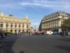 Paris place de l'opéra - journée plus ensoleillée que prévu