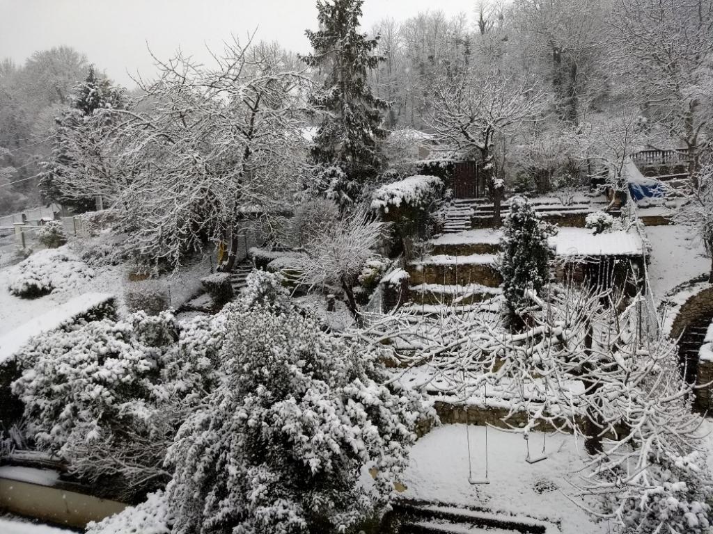 20 cm de neige!